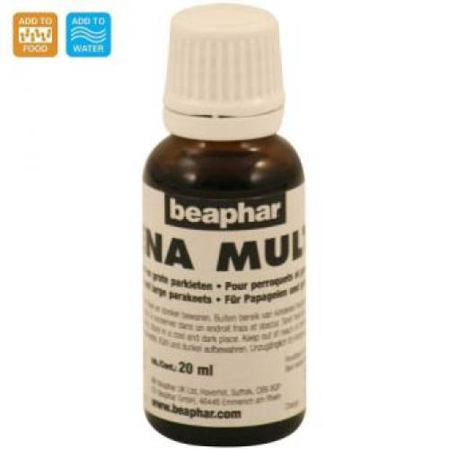 Beaphar Bogena Multi Vitamin for Parrots and Large Parakeets 20 ml