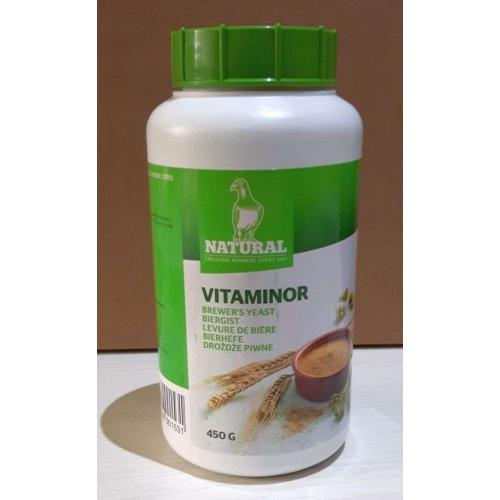 Natural Vitaminor Brewers Yeast For Racing Pigeons 450g