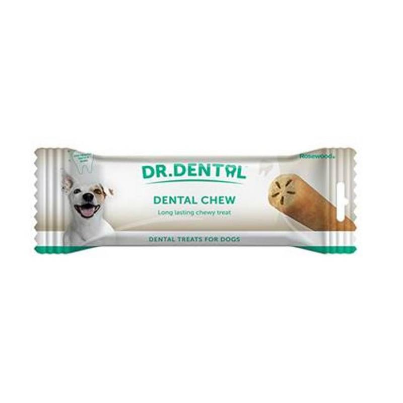 Dr Dental Rosewood Dental Chew Dog Treat 80g x 12 pack
