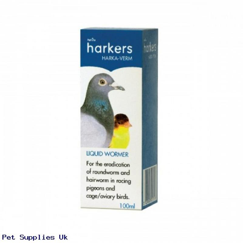 Harka-Verm 100ml – Liquid Pigeon Worming Treatment
