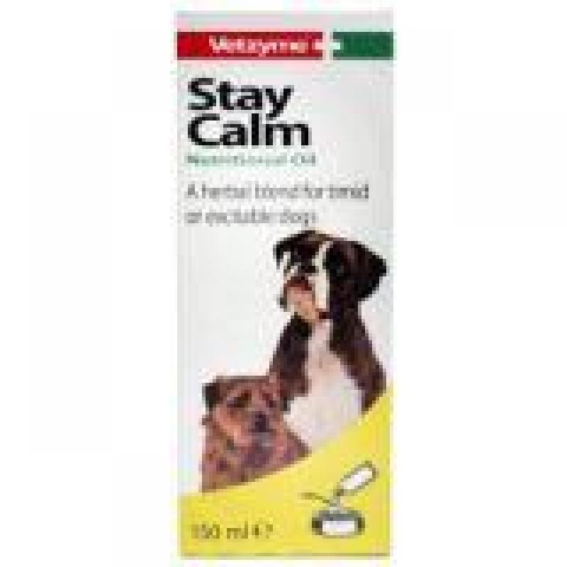 Vetzyme Stay Calm Food Supplement To Calm Dogs 150ml