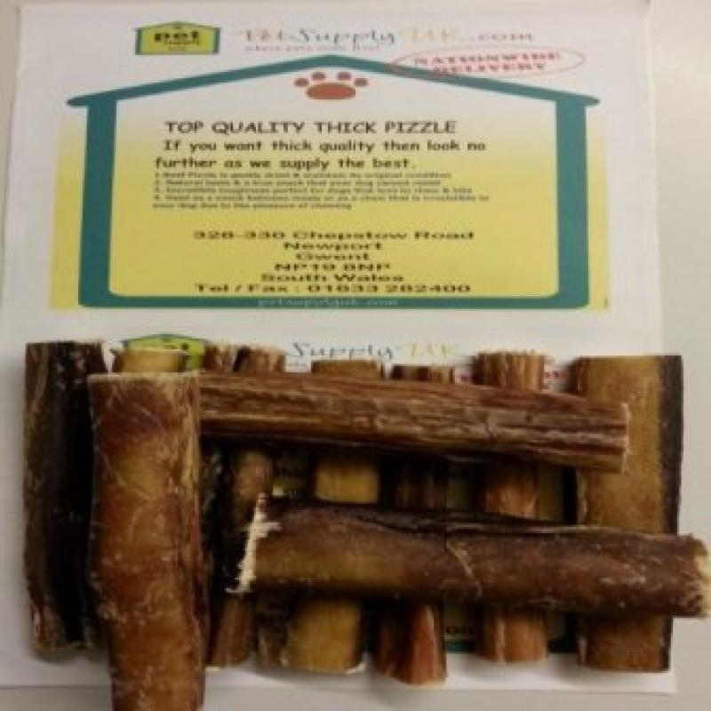 Beef Bulls Pizzle (5 to 6) 20pk Thick Quality Sticks